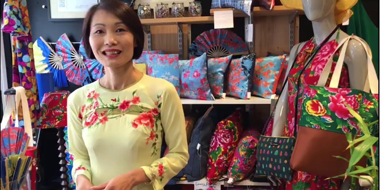 Tô'Liên marraine des jeunes en formation aux métiers de la mode